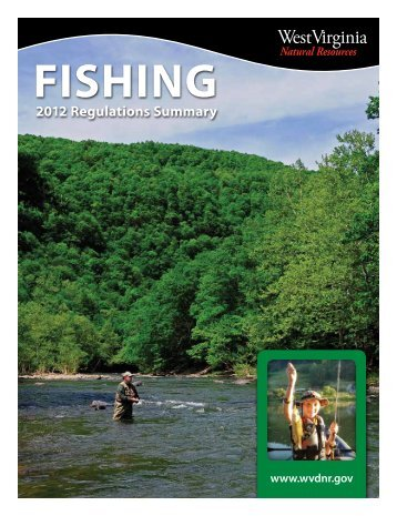 Fishing - West Virginia Division of Natural Resources