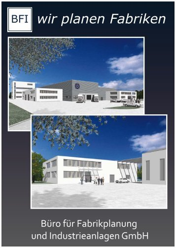 wir planen Fabriken - Büro für Fabrikplanung und Industrieanlagen ...