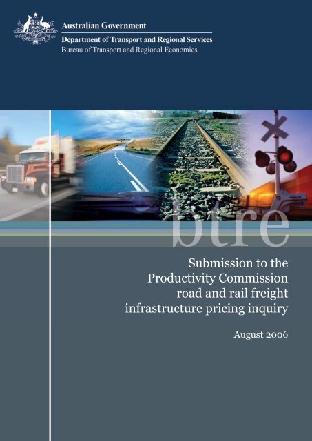 PDF: 435 KB - Bureau of Infrastructure, Transport and Regional ...