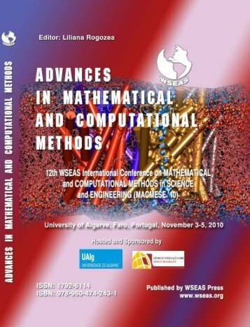ADVANCES in MATHEMATICAL and COMPUTATIONAL - Wseas.us
