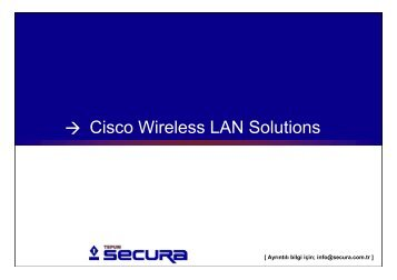 Cisco Wireless LAN Solutions, TEPUM Secura