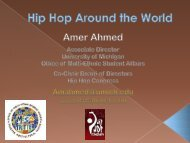 A Brief History of Hip Hop - International Center