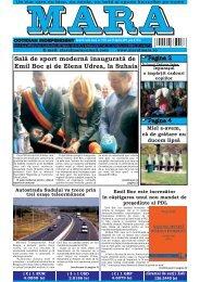 Descarca nr. 1181 - Ziarul Mara