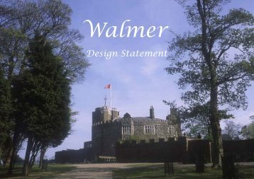 Walmer Design Statement - Dover District Council