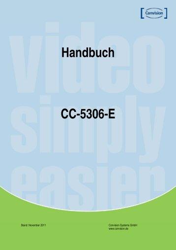 Handbuch CC-5306-E - Convision