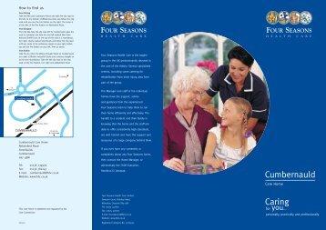 Cumbernauld Caring - Compare Care Homes