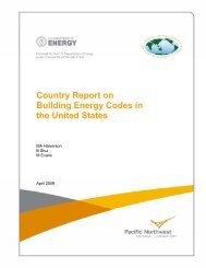 Country Report on Building Energy Codes in the United States