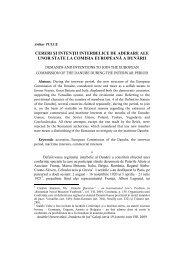 cereri şi intenţii interbelice de aderare ale unor state la comisia ...