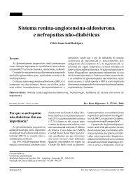 Sistema renina-angiotensina-aldosterona e nefropatias não ...