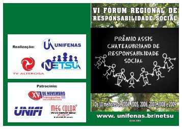 Guia de Responsabilidade Social - 2009 - Unifenas