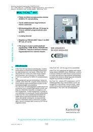 MC 801 adatlap HU - Comptech Kft.