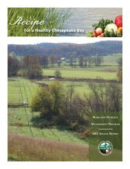 2011 - Maryland Department of Agriculture