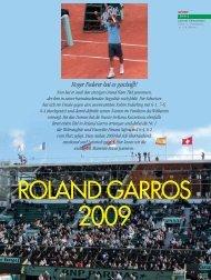 Roland Garros 2009 - Magazine Sports et Loisirs
