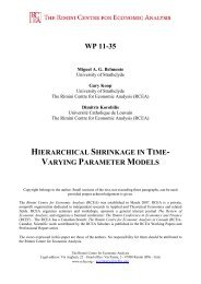 hierarchical shrinkage in time-varying parameter models