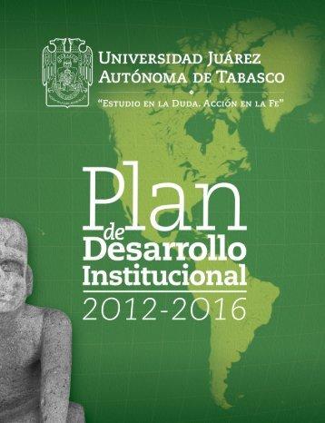 Plan de Desarrollo Institucional 2012-2016 - Universidad Juárez ...
