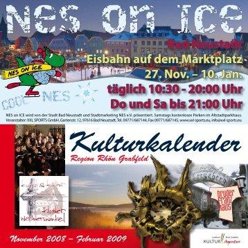 Bad Neustadt Eisbahn auf dem Marktplatz 27. Nov. – 10. Jan. täglich ...