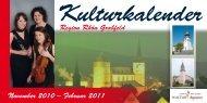 Kulturkalender - Landkreis Rhön-Grabfeld