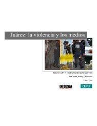 Juárez: la violencia y los medios