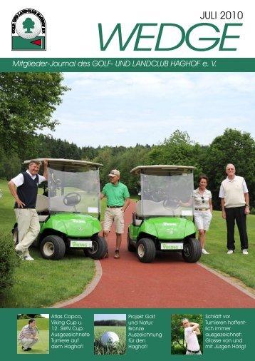 Wedge 1-2010 letzte Version.indd - Golf- und Landclub Haghof
