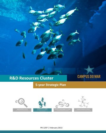 R&D Resources Cluster 5-year Strategic Plan - Campus do Mar
