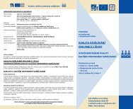 pozvánce - Národní vzdělávací fond