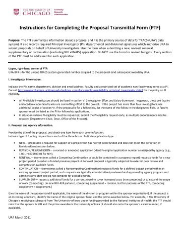 Contract Transmittal Form
