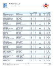 Custom Quiz List (Page 2) - Bartlesville Public Schools