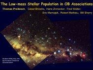 The Low-mass Stellar Population in OB Associations