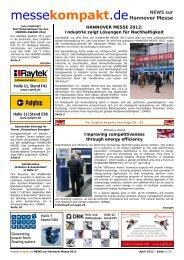 Hannover Messe messekompakt - English version - messeKompaKt ...