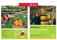 Sense – Science & Engineering Summer Experience rESEarch ...