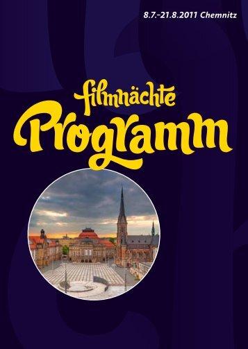 Programm - Filmnächte auf dem Theaterplatz