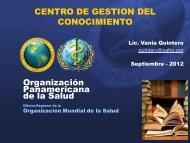 Biblioteca Virtual en Salud - CINU