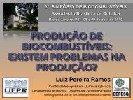 Existem Problemas na Produção? - Associação Brasileira de Química