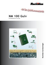 NM 100 Gulv - Rockidan