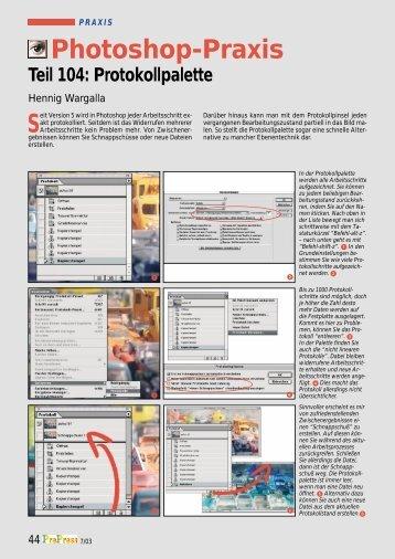 7+8/2003 Protokoll - Hennig Wargalla