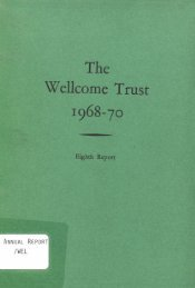 Wel1come Trust - Wellcome Trust