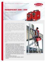 TRANSPOCKET 2500 / 3500 - Metalia