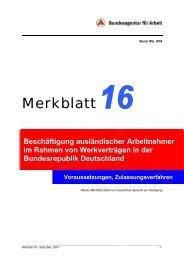 Merkblatt 16
