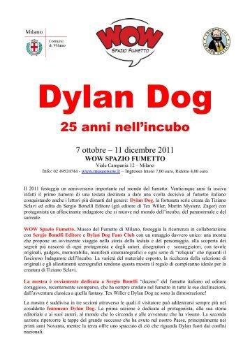 Dylan Dog – 25 anni nell'incubo - WOW Spazio Fumetto