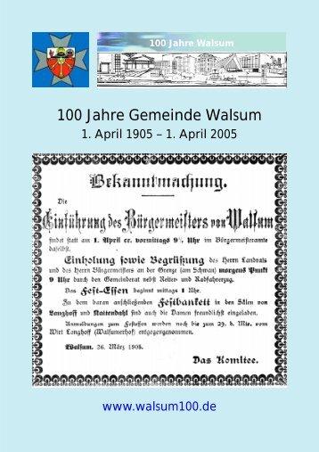 Festprogramm - Verein für Heimatpflege Land Dinslaken eV
