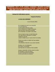 HISPANISTA - Vol X nº 39 - octubre – noviembre - diciembre de ...