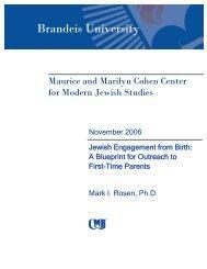 Publication - Brandeis Institutional Repository - Brandeis University