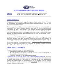ls-dyna ale advanced applications training seminar - Lstc com