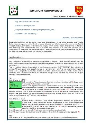 lire la nouvelle chronique du mois de septembre 2012. - Comité de ...