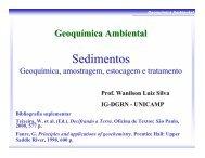 Geoquímica Ambiental