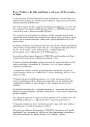 Douro: Produtores de vinho manifestam-se outra vez a 30 de ... - CNA