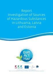 Report Investigation of Sources of Hazardous Substances in ...