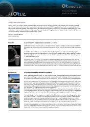 notiz 06, Juni 2012 - OT medical GmbH