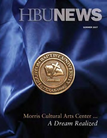 Volume 45, #1 - July 2007 - Houston Baptist University