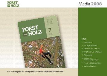 Media FUH 2008 - Verlag M. & H. Schaper